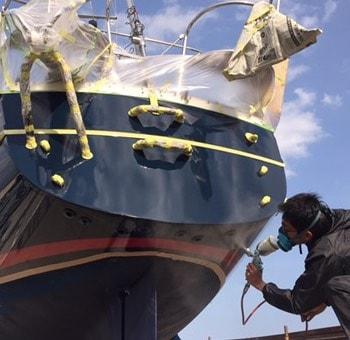 船舶の修理